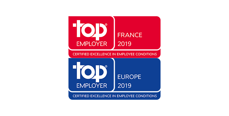ING en France certifié Top Employer 2019