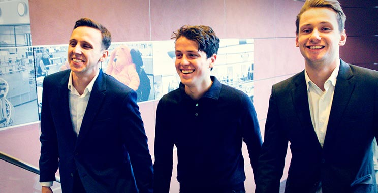 Felix Wayland, Raymond Koeken, Emanuel Sachse | Interns at ING Debt Capital Markets