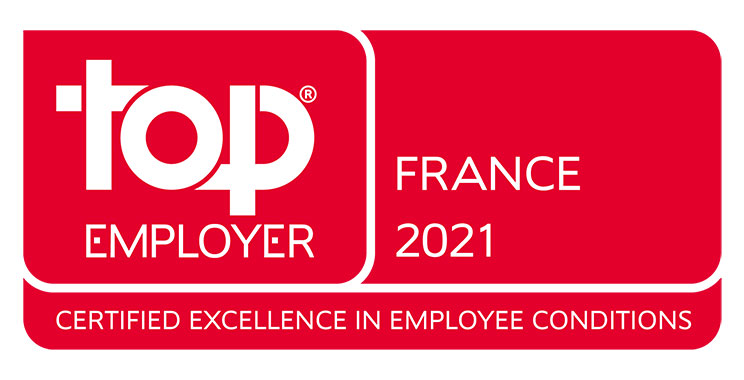 ING en France certifié Top Employer 2021