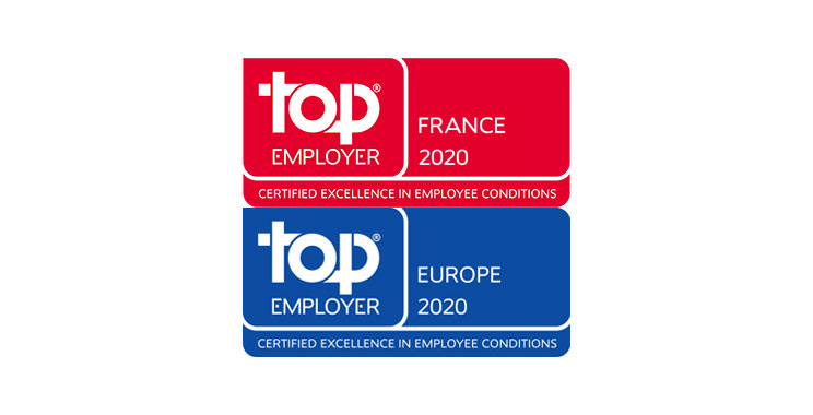 ING en France certifié Top Employer 2020