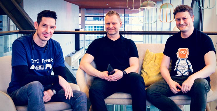 Pierre Venter, Marcin Pakulnicki and Effi Bennekers | Software engineers